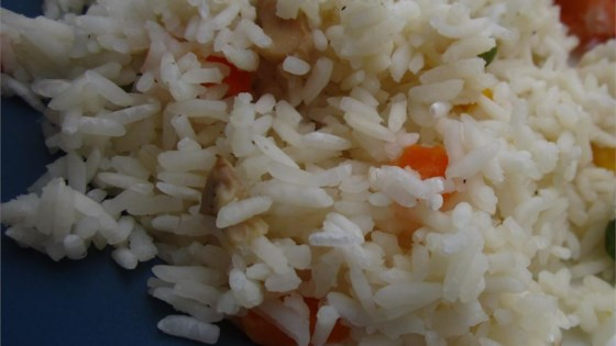 Photo of Vegetable Rice Pilaf in the Rice Cooker by Ali