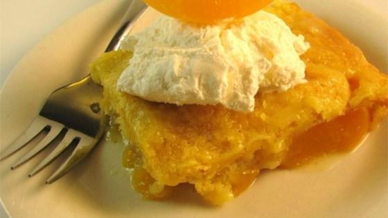 Photo of Peach Dump Cake by Marie