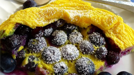 Photo of Microwave Blueberry Dutch Baby by Sally Anne