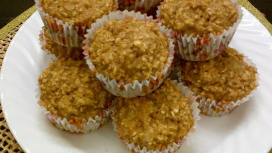 Photo of Applesauce-Oat Muffins by Kelly R.