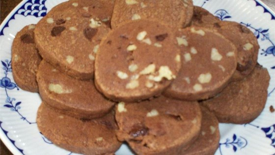 Chocolate Refrigerator Cookies Recipe Allrecipes Com