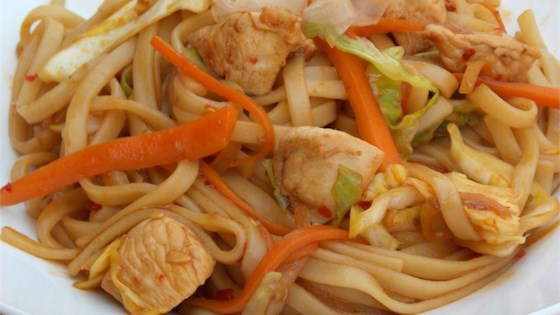 Chicken Yakisoba Recipe - Allrecipes.com