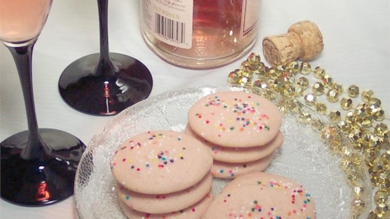 Photo of Champagne Cookies by Glitter candy