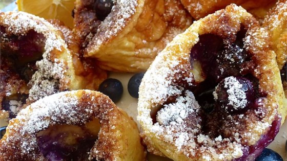 Photo of Blueberry Popovers by BarbT