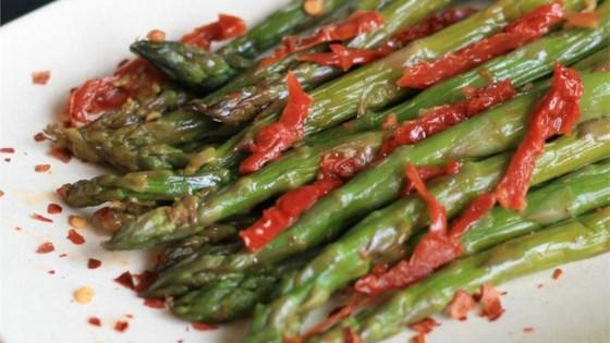 Sun-Dried Tomato Asparagus