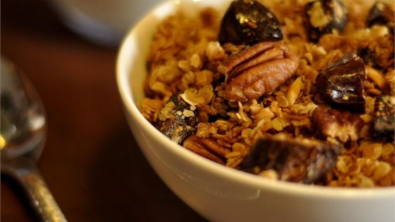 Photo of Mal's Maple Date Pecan Granola in the Slow Cooker by Malina Bleeding Heart Morris