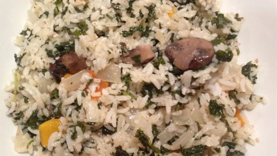 Photo of Sauteed Rice with Kale by BramptonMommyof2
