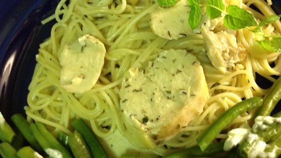 Photo of Thyme Mint Chicken Pasta by Michelle English