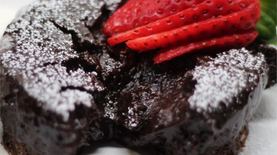 Photo of Chef John's Chocolate Lava Cake  by Chef John