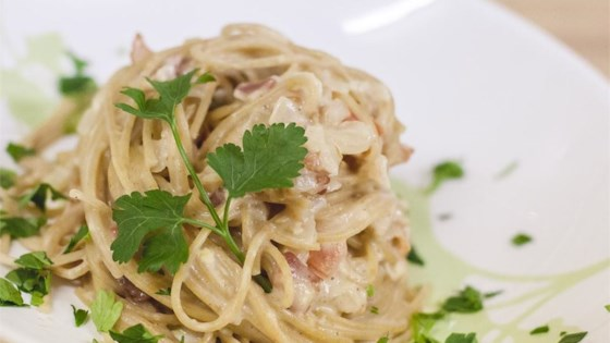 Photo of Easy Carbonara Sauce by Brigette Anderson