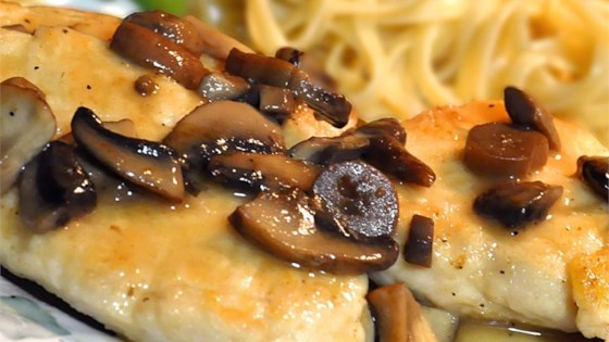 Photo of Healthier Chicken Marsala by MakeItHealthy