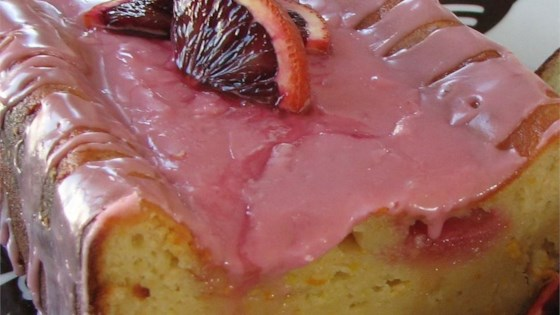 Photo of Blood Orange Yogurt Olive Oil Cake by Foodtorum