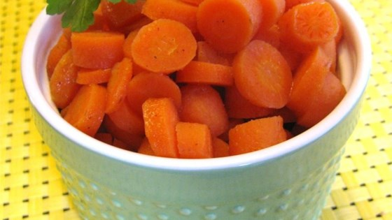 Photo of Cinnamon and Orange Glazed Carrots by Katie H