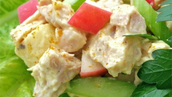 Photo of Chicken Salad with Mango Chutney by simone stevin