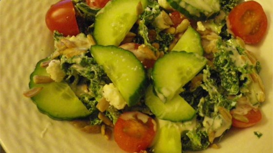 Photo of Greek Kale Tomato Salad by scbauer2