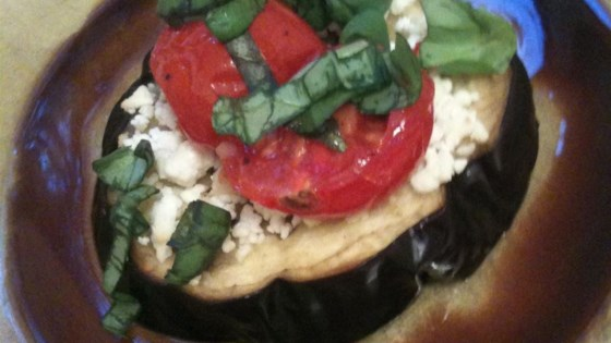 Photo of Eggplant with Feta Cheese by Barbara Zernicke
