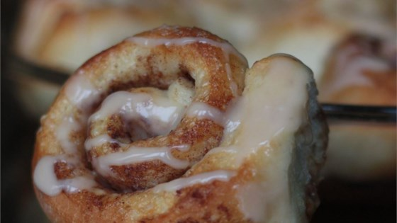 Photo of Cinnamon Rolls From Frozen Bread Dough - EASY by J Jones
