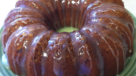 Photo of Banana Pound Cake With Caramel Glaze by Swaneeramsey