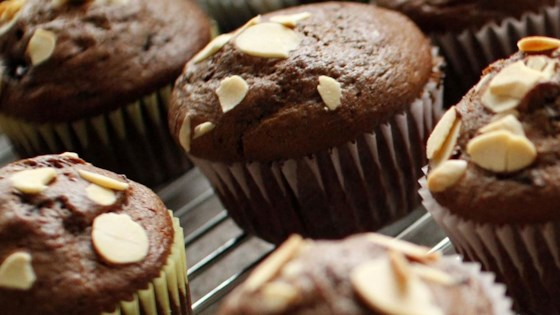 Photo of Double Chocolate Cherry Muffins by kjstrom