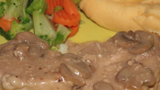 Photo of Creamy Drunken Mushroom Pork Chops by Candice Fillingim