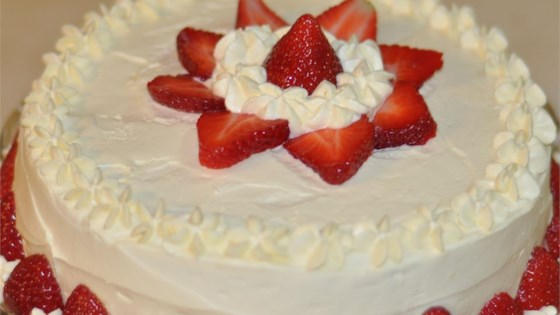 Photo of Whipped Cream Mousse Frosting by Angela Welch