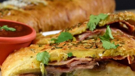 Photo of Meat and Veggie Stromboli by Christine Sickeri