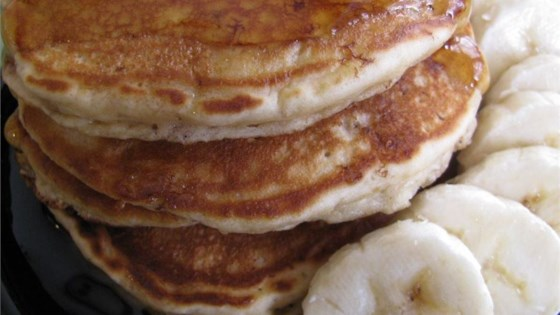 Photo of Peanut Butter Banana Pancakes by ELFMAN42