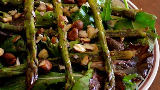 Photo of Microwave Asparagus Salad by USA WEEKEND columnist Jean Carper