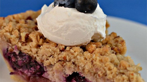 Photo of Creamy Apple Blueberry Pie by Megan Karlowsky
