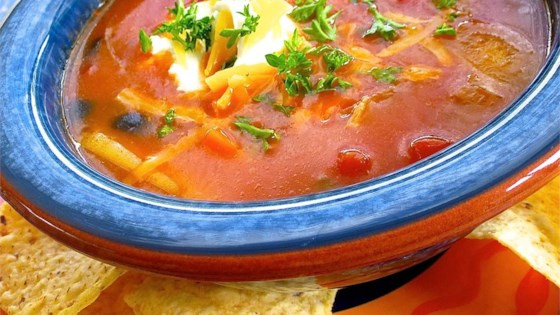 Photo of Quick Spicy Tomato Soup by Cathy