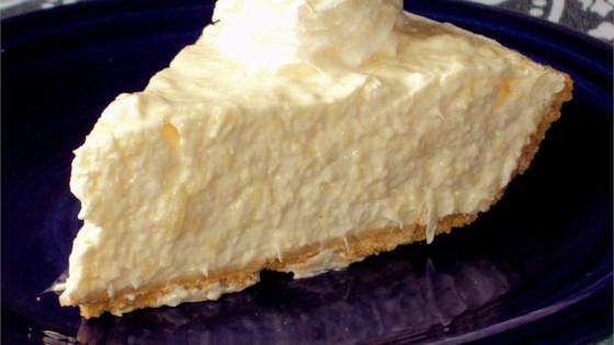 Jim's Pineapple Cheese Pie