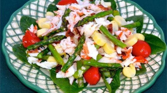 Photo of Asparagus and Crab Salad by Diane H