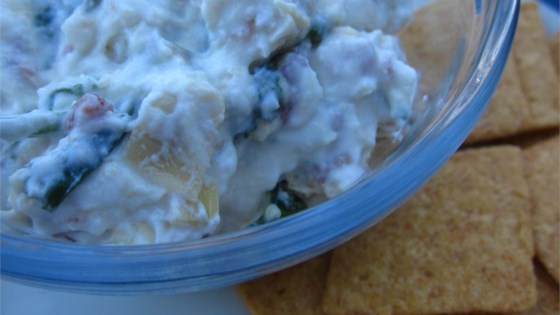 Photo of Super-Simple Bacon, Spinach, and Artichoke Dip by KoalaFace
