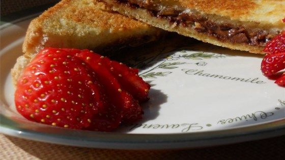 Photo of Peanut Butter and Chocolate Panini by mm