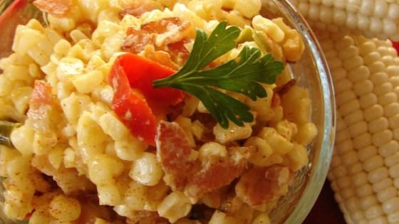 Cajun Corn and Bacon Maque Choux Recipe