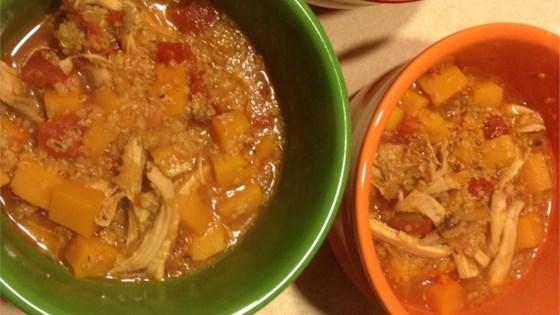 Photo of Chicken, Butternut Squash, and Quinoa Soup by Karen Kmieciak