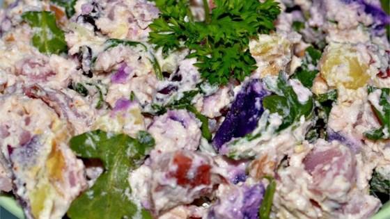 Photo of Warm Fingerling Potato Salad by Tammi
