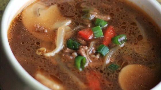 Photo of Asian Burger Soup by PATRICIA53