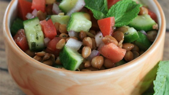 Photo of Lentil Salad with a Persian Twist by NOOSH