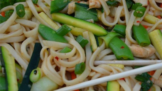Photo of Chow Mein with Chicken and Vegetables by Allrecipes