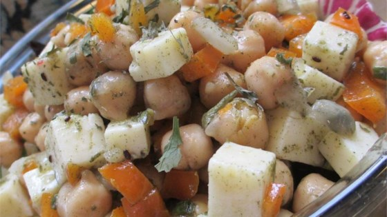 Photo of Chickpea and Cheese Salad by Miriam B
