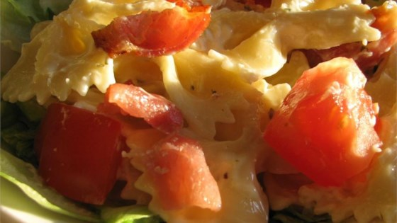 Photo of BLT Bow Tie Salad by kmb