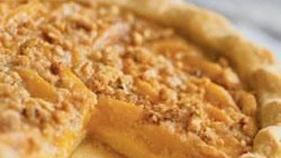 Photo of Deep-Dish Peach Custard Pie by Nestle® Carnation®