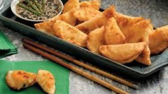 Photo of Potato and Cheese Filled Pot Stickers by Simply Potatoes®