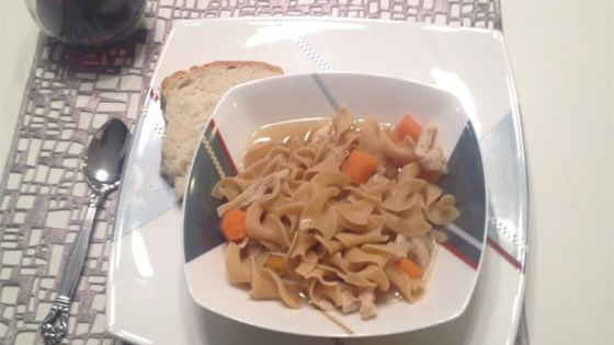 Photo of Hearty Homemade Chicken Noodle Soup Express by Campbell's Kitchen