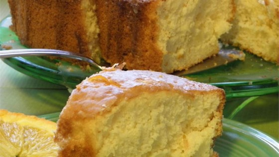 Photo of Orange Fluff Cake by S Hussy