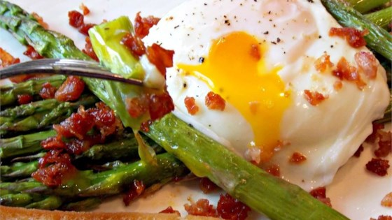Photo of Roasted Asparagus Prosciutto and Egg by Chef John