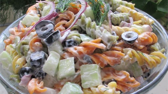 Photo of Springtime Pasta Salad by Becky Ley