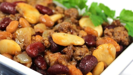 Calico Bean Casserole Recipe Allrecipes Com