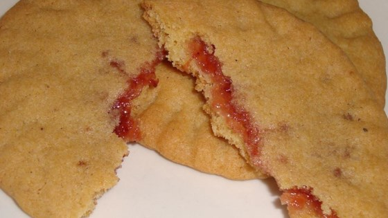 Photo of Granny's Strawberry Preserves-Filled Cookies by Julie Holden